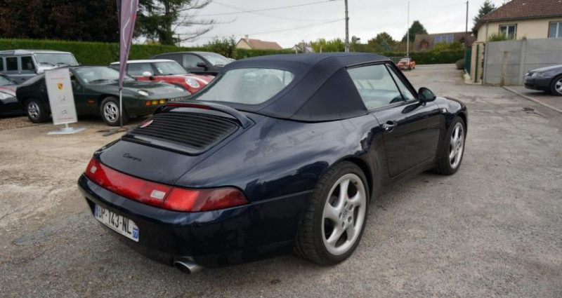 Porsche 993 CARRERA 2 CABRIOLET Bleu occasion à Charpont - photo n°7