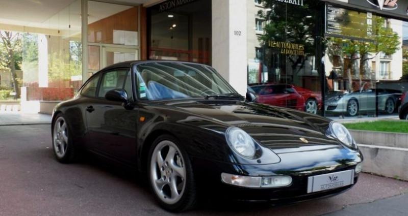 Porsche 993 carrera 4 Noir occasion à Saint-maur-des-fossés - photo n°4