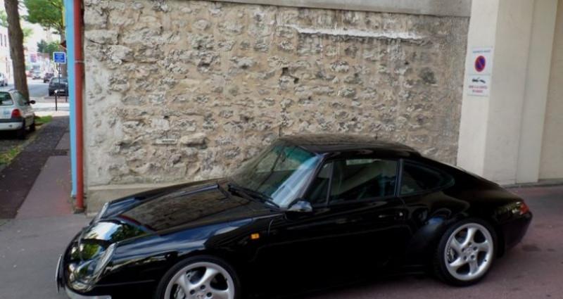 Porsche 993 carrera 4 Noir occasion à Saint-maur-des-fossés - photo n°2