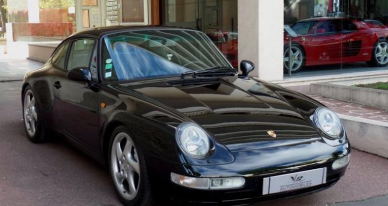Porsche 993 carrera 4 Noir occasion à Saint-maur-des-fossés