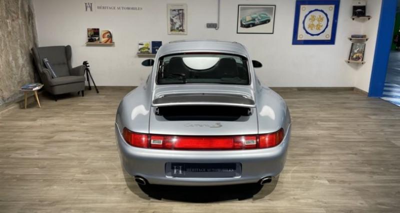 Porsche 993 Carrera 4S Gris occasion à Neuilly-sur-Seine - photo n°7