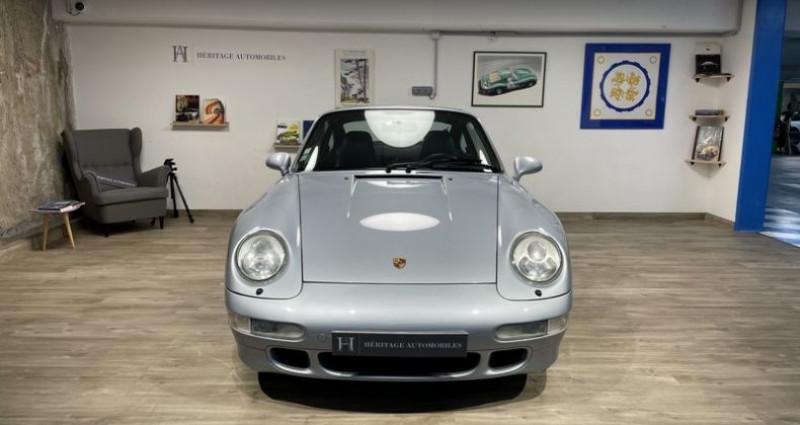Porsche 993 Carrera 4S Gris occasion à Neuilly-sur-Seine - photo n°2
