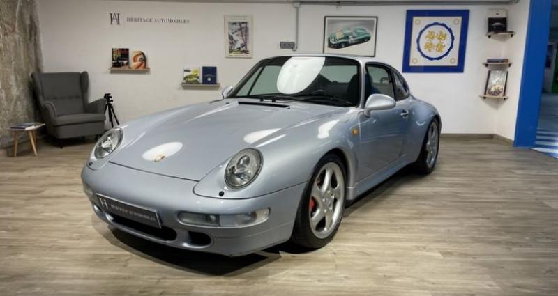 Porsche 993 Carrera 4S Gris occasion à Neuilly-sur-Seine