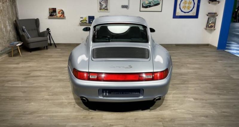 Porsche 993 Carrera 4S Gris occasion à Neuilly-sur-Seine - photo n°6