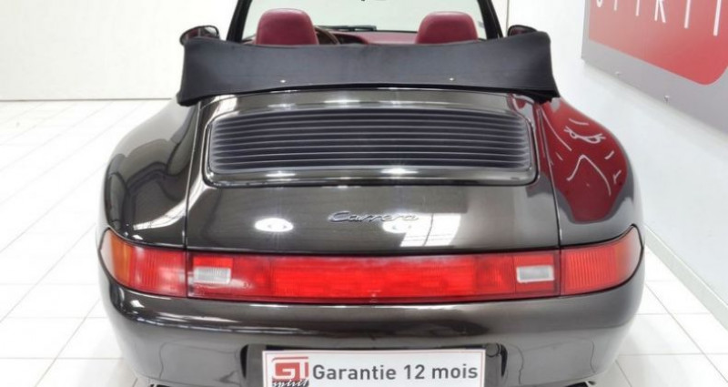 Porsche 993 Carrera Cabriolet  occasion à La Boisse - photo n°5