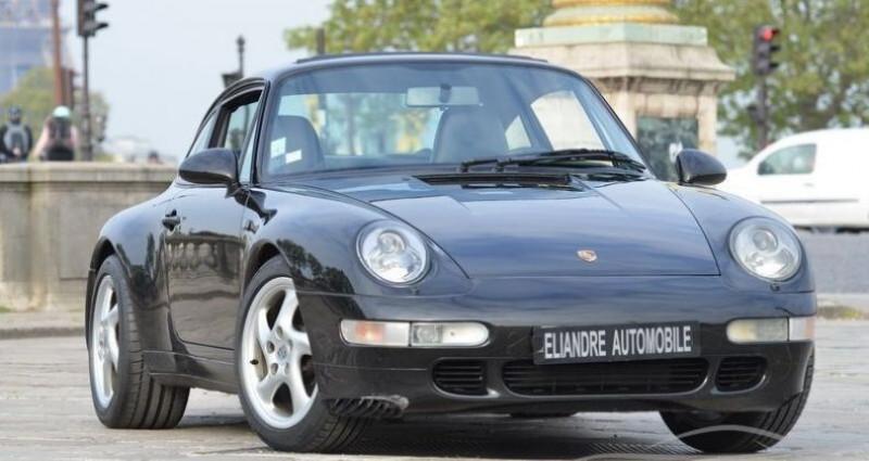 Porsche 993 COUPE TIPTRONIC Noir occasion à PARIS