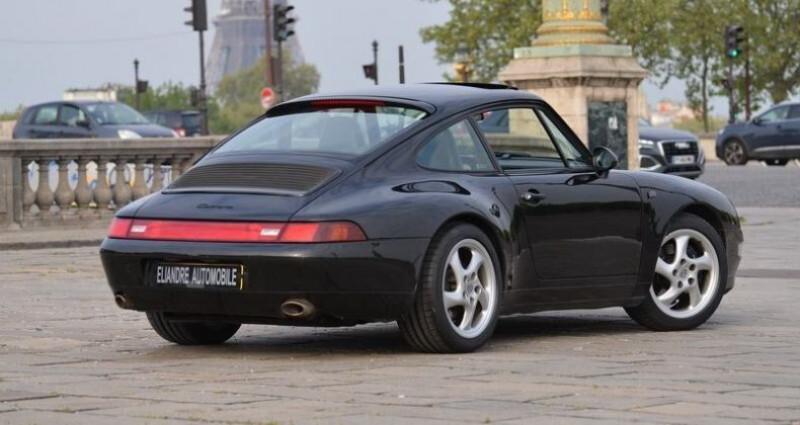 Porsche 993 COUPE TIPTRONIC Noir occasion à PARIS - photo n°3