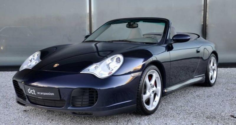 Porsche 996 4S Turbo Seats Sportexhaust PCM Bleu occasion à Wielsbeke