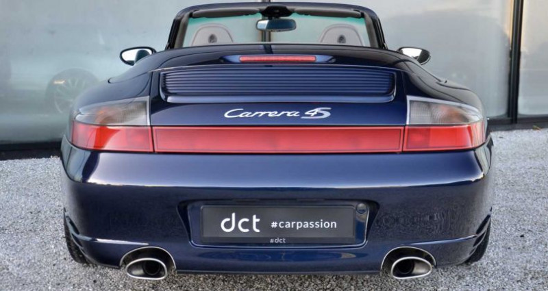 Porsche 996 4S Turbo Seats Sportexhaust PCM Bleu occasion à Wielsbeke - photo n°4