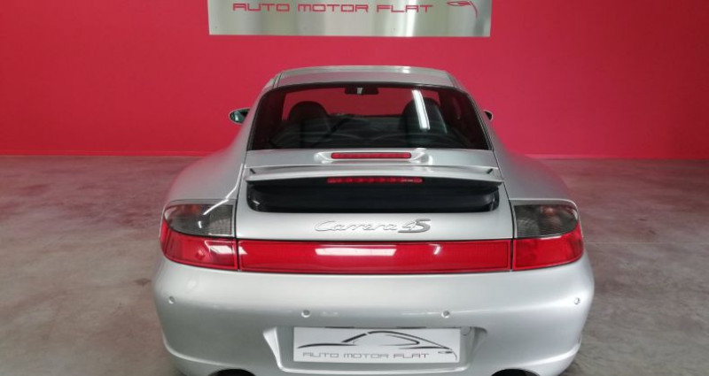 Porsche 996 4S Gris occasion à SAINT ANDRE DE CORCY - photo n°4