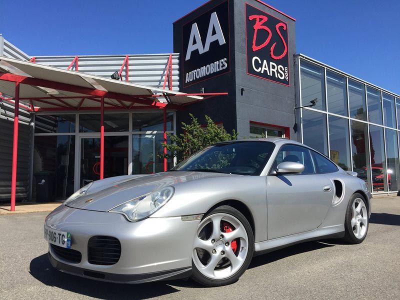 Porsche 996 996 TURBO TIPTRONIC Gris occasion à Castelmaurou - photo n°1