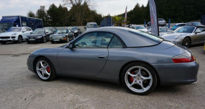 Porsche 996 CABRIOLET Gris occasion à Charpont - photo n°4