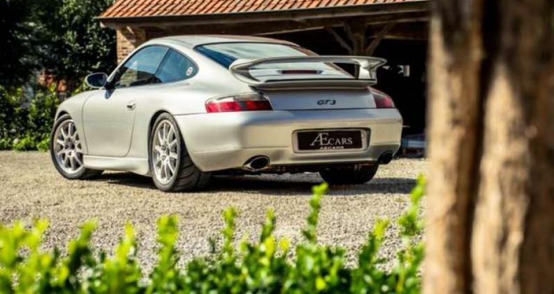 Porsche 996 GT3 - MANUAL - GT SPORTSEATS - ROLL CAGE Gris occasion à IZEGEM - photo n°4