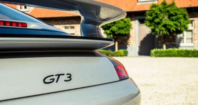 Porsche 996 GT3 - MANUAL - GT SPORTSEATS - ROLL CAGE Gris occasion à IZEGEM - photo n°5