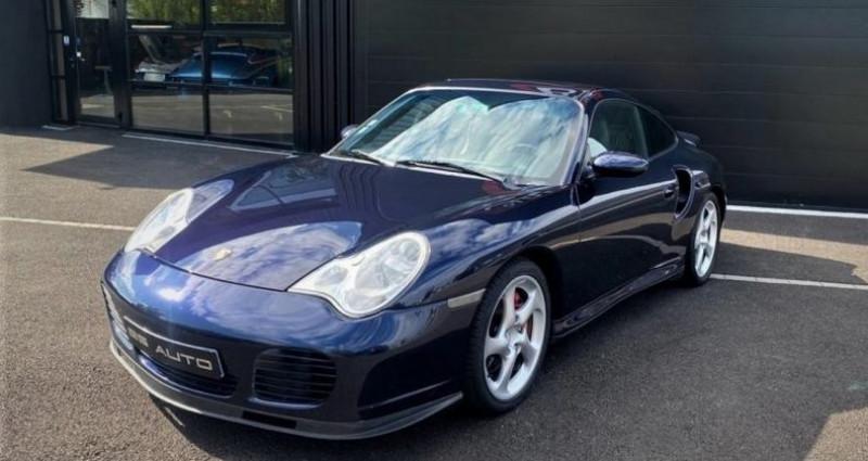 Porsche 996 Turbo 3.6L BVM6 420ch Bleu occasion à SOUFFELWEYERSHEIM