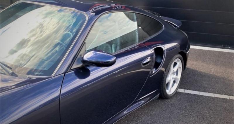 Porsche 996 Turbo 3.6L BVM6 420ch Bleu occasion à SOUFFELWEYERSHEIM - photo n°2
