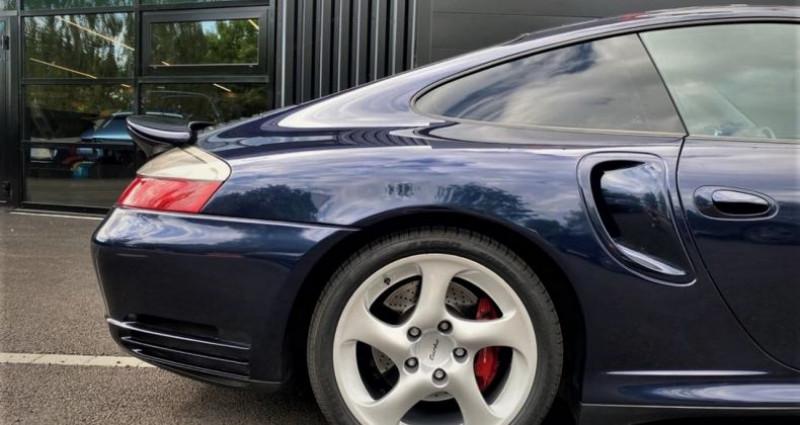 Porsche 996 Turbo 3.6L BVM6 420ch Bleu occasion à SOUFFELWEYERSHEIM - photo n°4