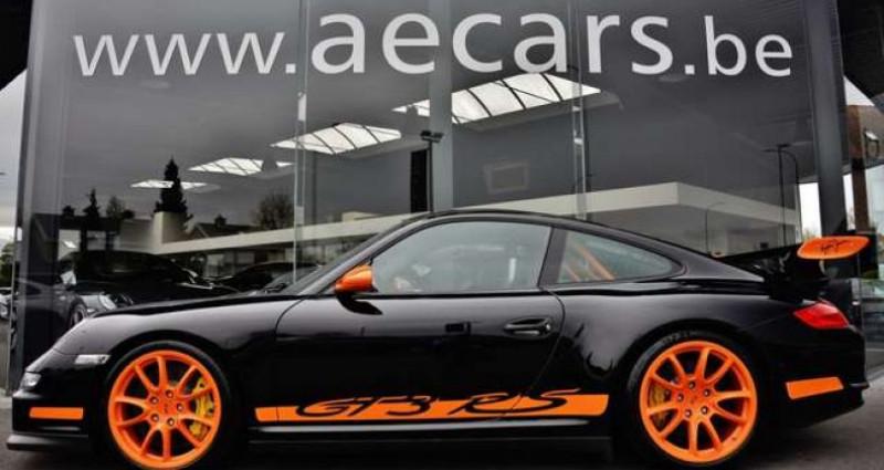 Porsche 997 - GT3 RS - XENON - GPS - CARBON - SPORTEXHAUST - Noir occasion à IZEGEM - photo n°3