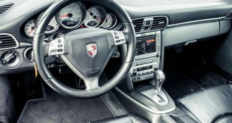 Porsche 997 - - TURBO - TIPTRONIC S - XENON - LEATHER - BOSE - - Gris occasion à IZEGEM - photo n°7