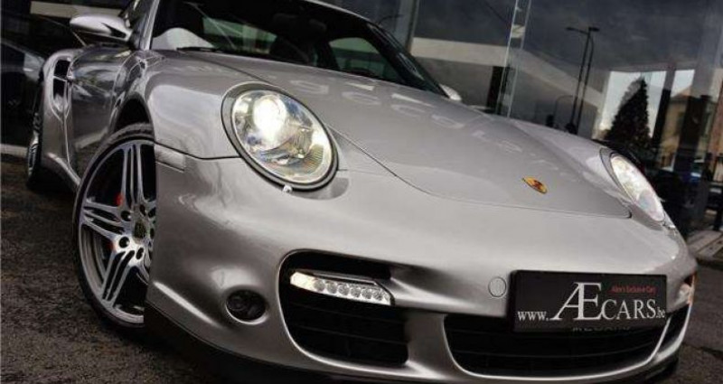 Porsche 997 3.6 TURBO - SPORT CHRONO - MEMORY - BOSE Gris occasion à IZEGEM - photo n°2