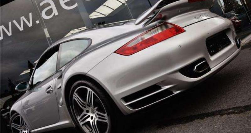 Porsche 997 3.6 TURBO - SPORT CHRONO - MEMORY - BOSE Gris occasion à IZEGEM - photo n°5