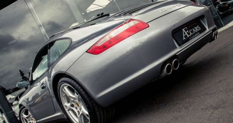 Porsche 997 4S - MANUAL - CERAMIC - FULL HISTORY Gris occasion à IZEGEM - photo n°5
