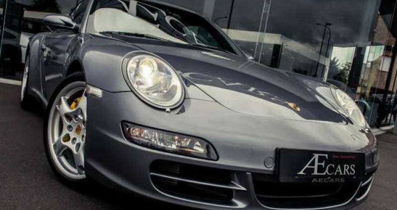 Porsche 997 4S - MANUAL - CERAMIC - FULL HISTORY Gris occasion à IZEGEM - photo n°2