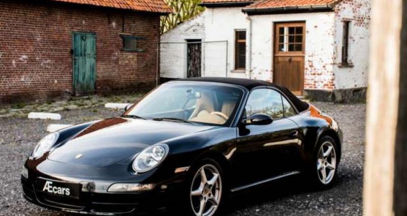Porsche 997 911 CARRERA 4 - CABRIO - TIPTRONIC - BELGIAN Noir occasion à IZEGEM - photo n°6