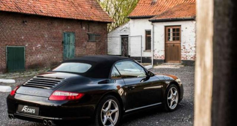 Porsche 997 911 CARRERA 4 - CABRIO - TIPTRONIC - BELGIAN Noir occasion à IZEGEM - photo n°5