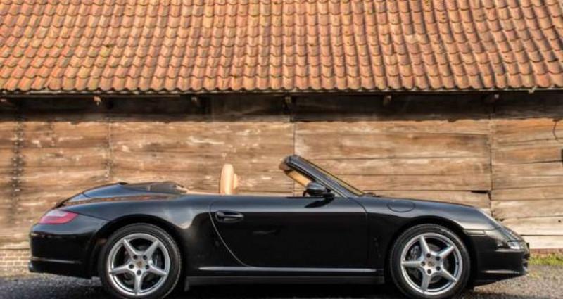 Porsche 997 911 CARRERA 4 - CABRIO - TIPTRONIC - BELGIAN Noir occasion à IZEGEM - photo n°4