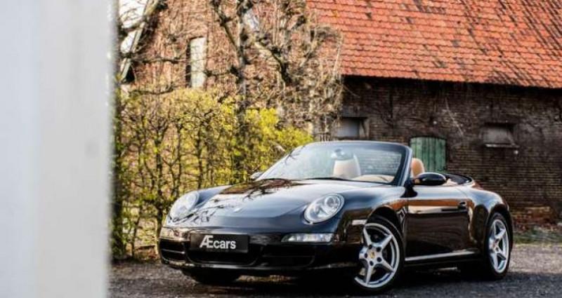Porsche 997 911 CARRERA 4 - CABRIO - TIPTRONIC - BELGIAN Noir occasion à IZEGEM - photo n°2