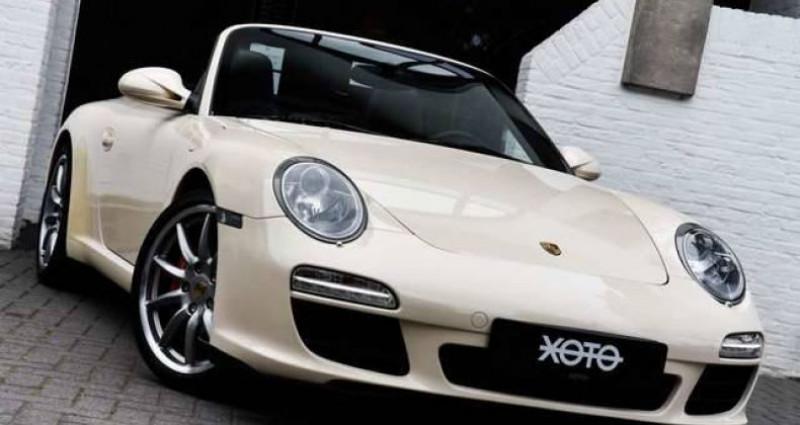 Porsche 997 911 S 3.8i PDK CABRIO Blanc occasion à Jabbeke - photo n°2
