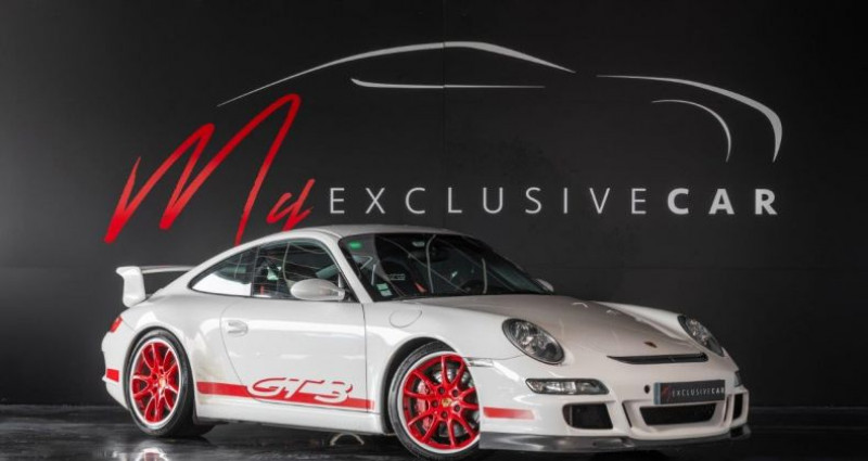 Porsche 997 991 GT3 Phase 1 - Pack Sport Chrono, Toit Ouvrant, ... - Gra Blanc occasion à LISSIEU