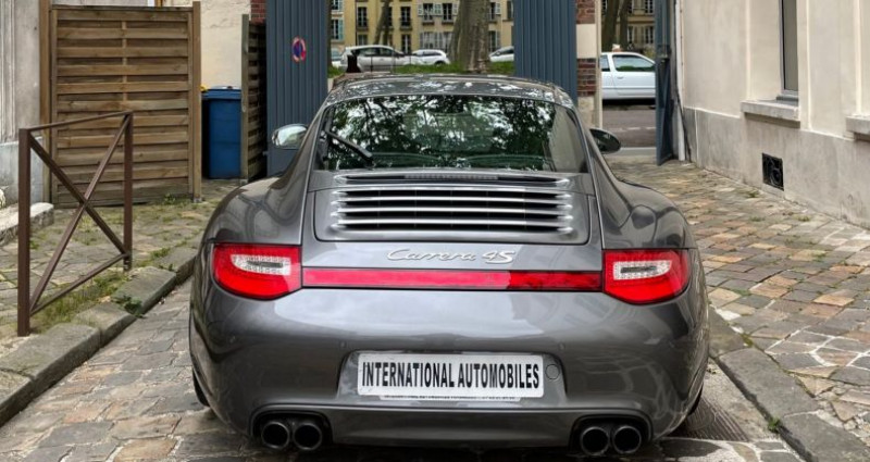 Porsche 997 PORSCHE 911 (2) 3.8 385 CARRERA 4S PDK Gris occasion à Versailles - photo n°5