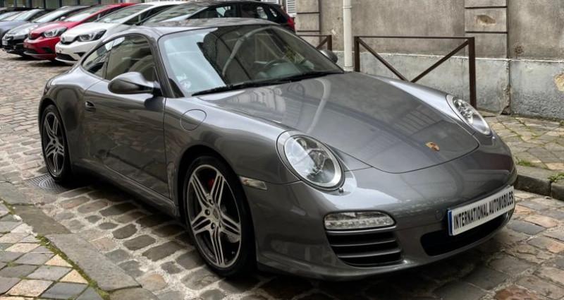 Porsche 997 PORSCHE 911 (2) 3.8 385 CARRERA 4S PDK Gris occasion à Versailles - photo n°3
