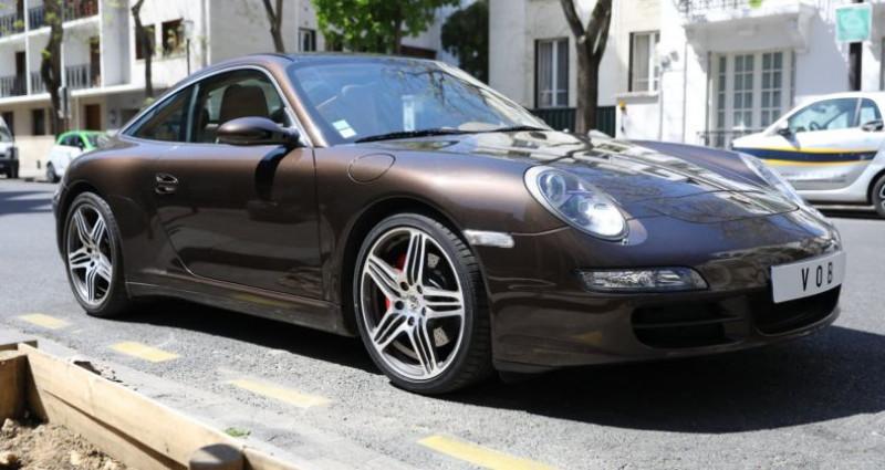 Porsche 997 PORSCHE 997 TARGA 4S TIPTRONIC S 355CV SUPERBE Marron occasion à BOULOGNE BILLANCOURT