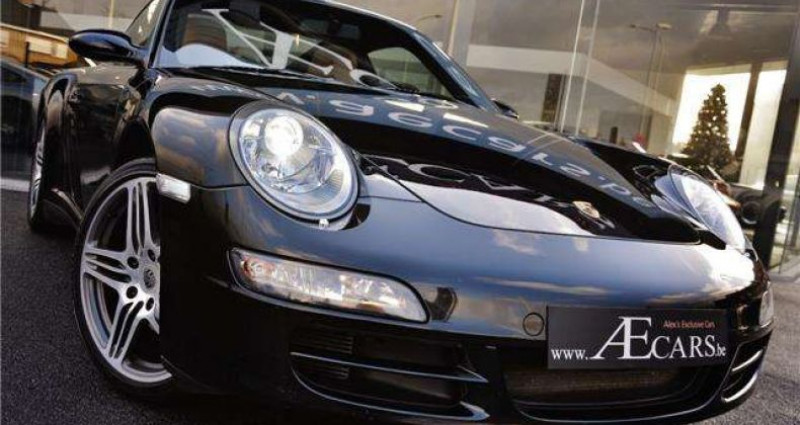 Porsche 997 TARGA 4 - XENON - GPS - PDC - BELGIAN CAR Noir occasion à IZEGEM - photo n°2