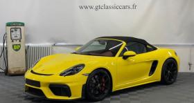 Porsche Boxster 718 occasion à LA COUTURE BOUSSEY