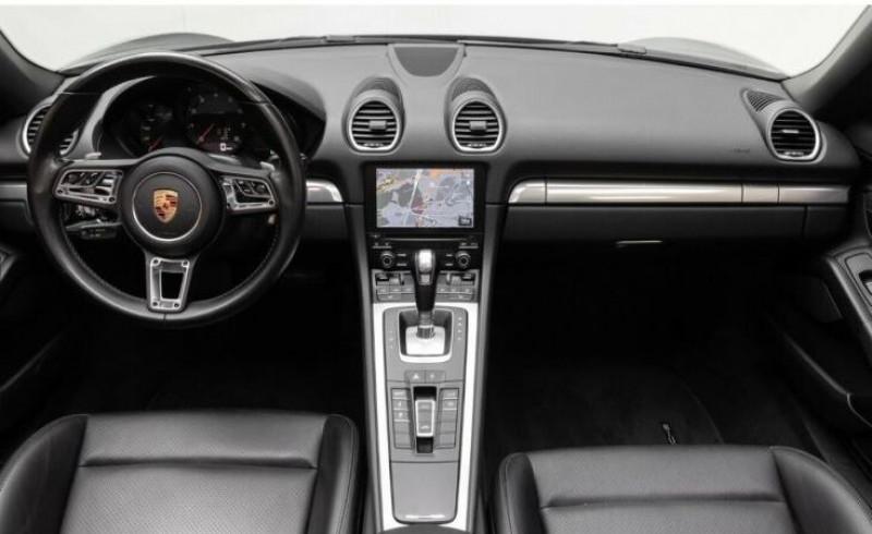 Porsche Boxster 718 2.0 300CH PDK Noir occasion à Villenave-d'Ornon - photo n°9