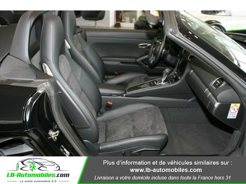 Porsche Boxster 718 2.0i 300 ch / PDK Noir occasion à Beaupuy - photo n°5