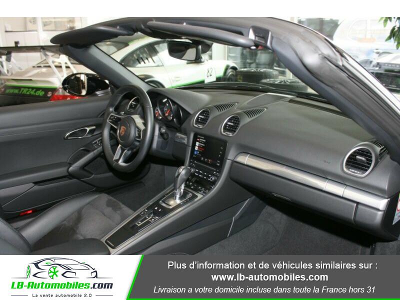 Porsche Boxster 718 2.0i 300 ch / PDK Noir occasion à Beaupuy - photo n°6