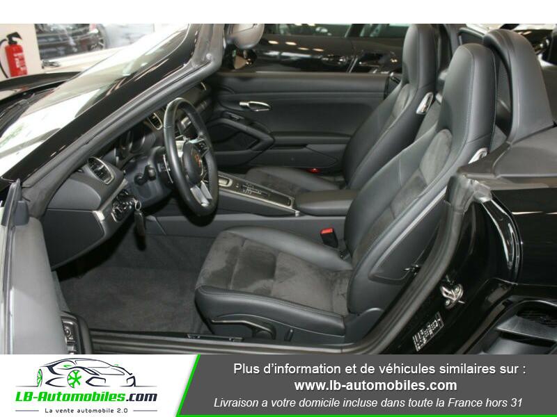 Porsche Boxster 718 2.0i 300 ch / PDK Noir occasion à Beaupuy - photo n°4