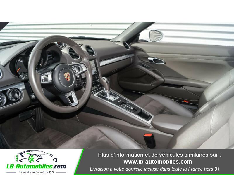Porsche Boxster 718 2.0i 300 ch / PDK Blanc occasion à Beaupuy - photo n°4
