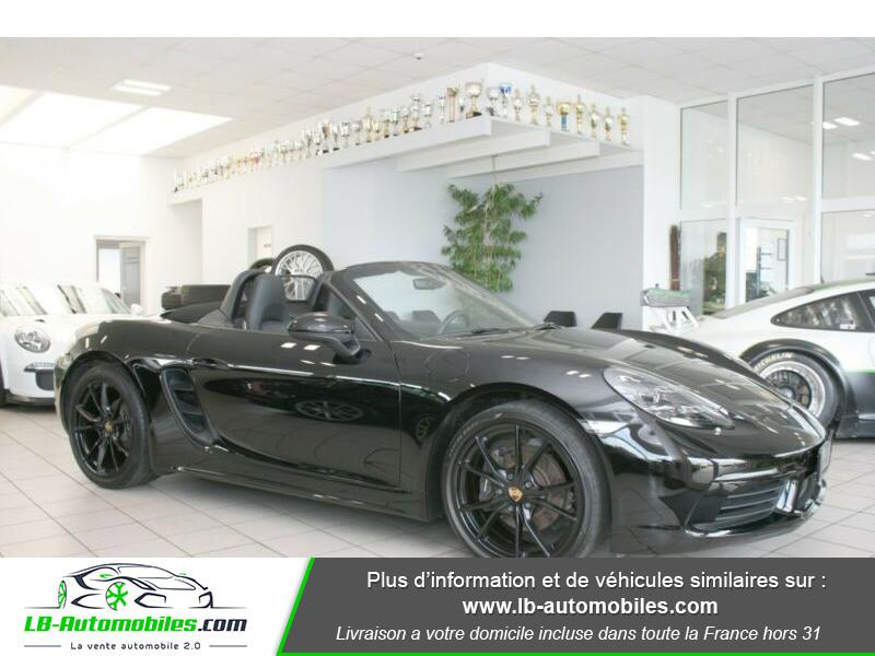 Porsche Boxster 718 2.0i 300 ch / PDK Noir occasion à Beaupuy - photo n°8