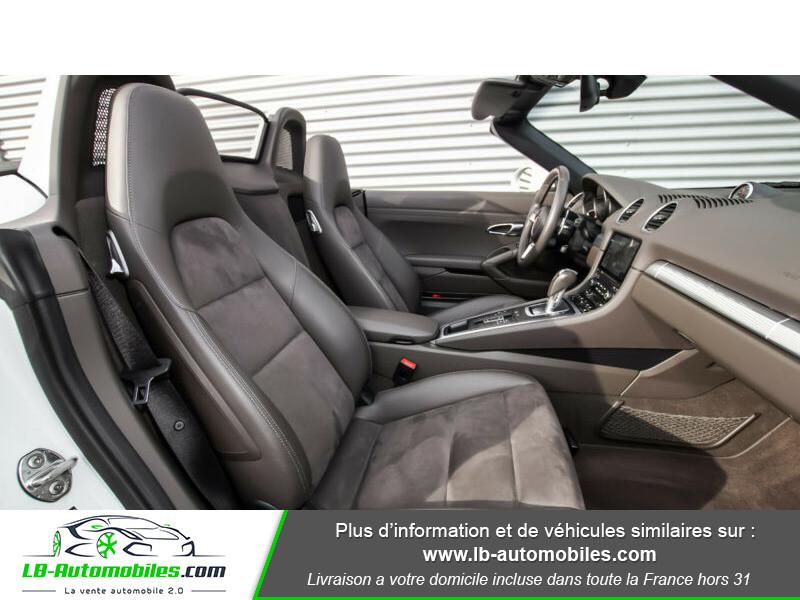 Porsche Boxster 718 2.0i 300 ch / PDK Blanc occasion à Beaupuy - photo n°5