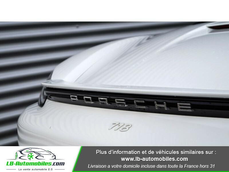 Porsche Boxster 718 2.0i 300 ch / PDK Blanc occasion à Beaupuy - photo n°12