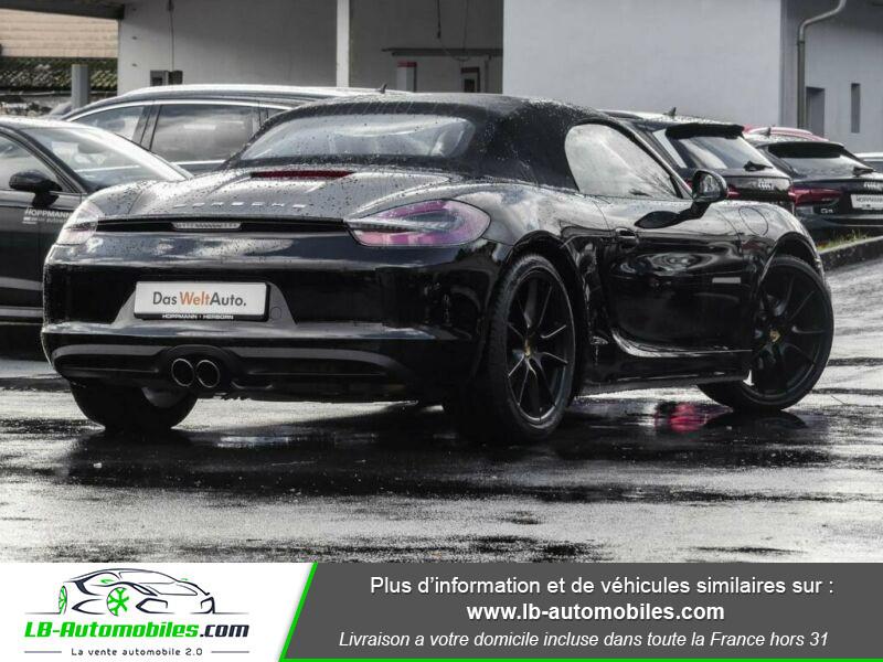 Porsche Boxster 718 2.0i 300 ch / PDK Noir occasion à Beaupuy - photo n°3