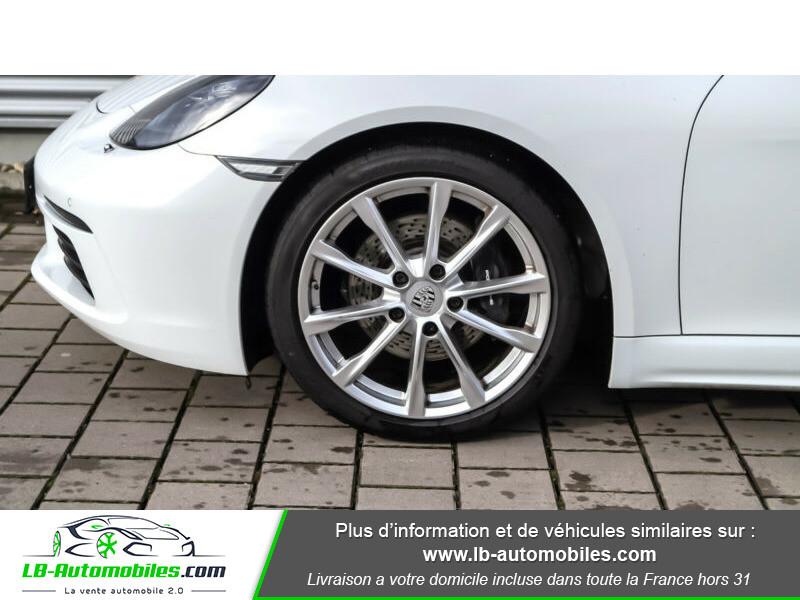 Porsche Boxster 718 2.0i 300 ch / PDK Blanc occasion à Beaupuy - photo n°15