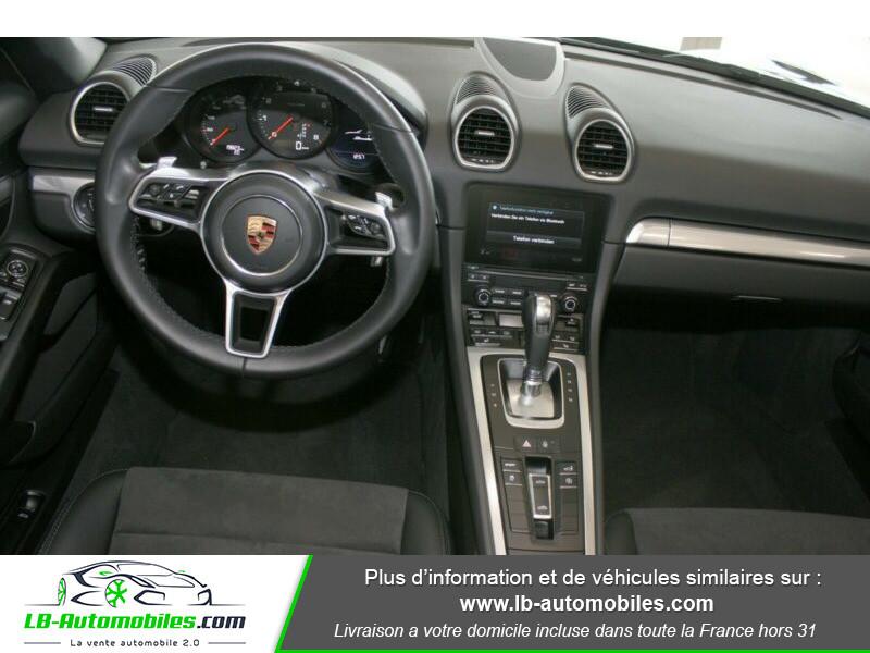 Porsche Boxster 718 2.0i 300 ch / PDK Noir occasion à Beaupuy - photo n°2