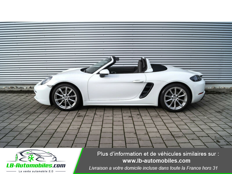 Porsche Boxster 718 2.0i 300 ch / PDK Blanc occasion à Beaupuy - photo n°13